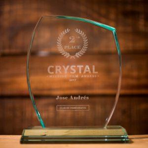 premio mejor vídeo de boda Jose Andres fotografía y cine documental de bodas en Valencia Cuenca y Albacete