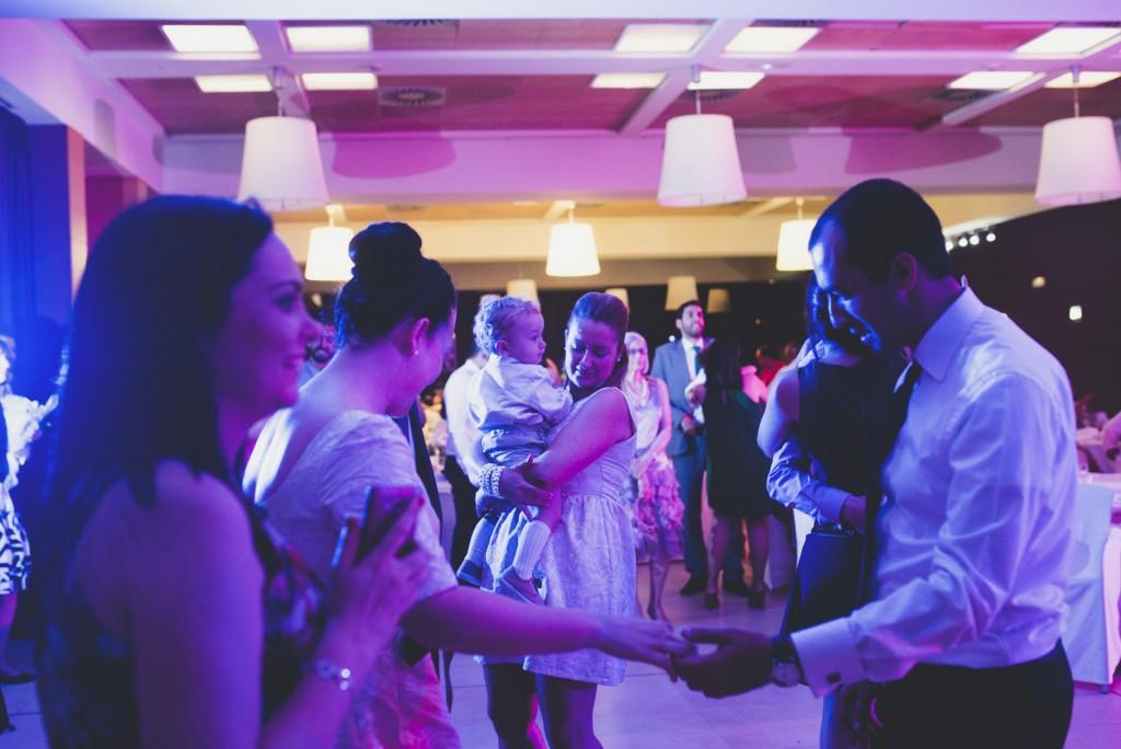 fiesta de boda en Hotel Puerta de Valencia