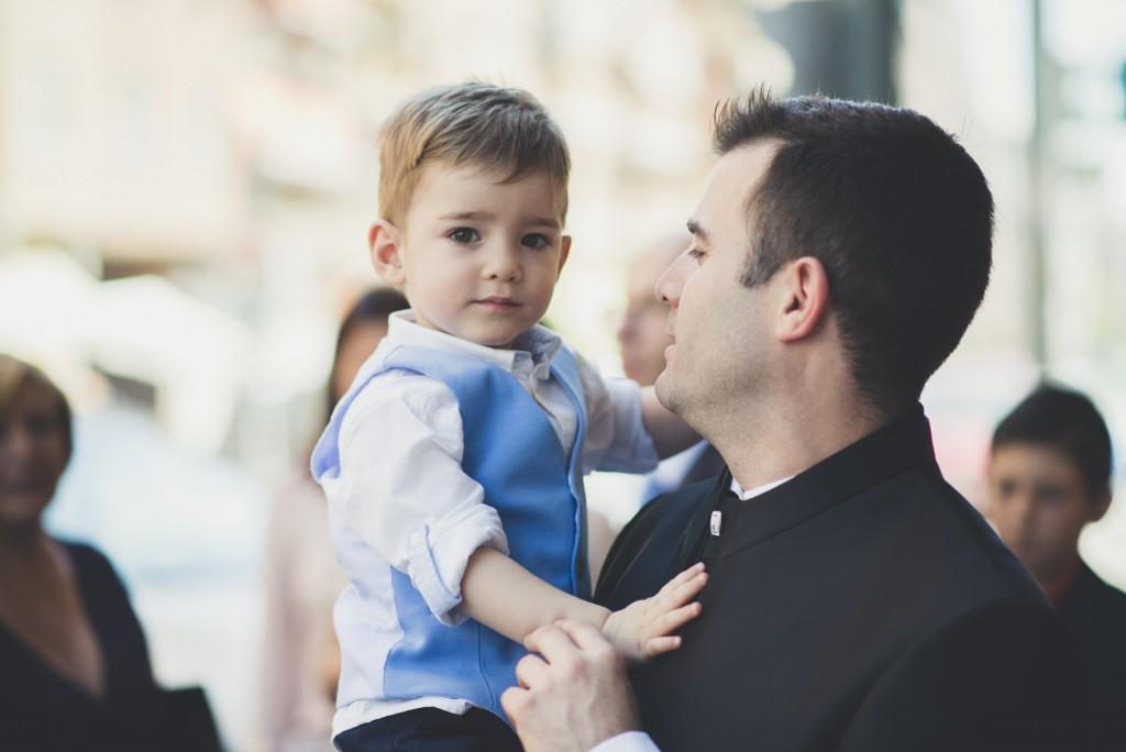 novio con su hijo
