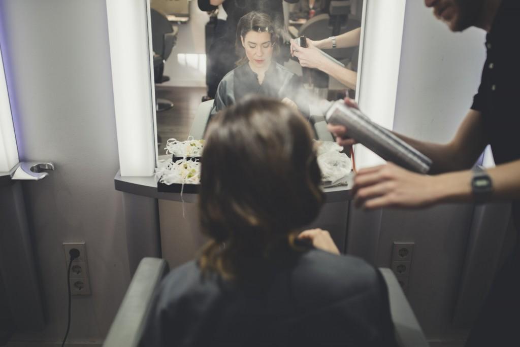novia en maquillaje boda diferente