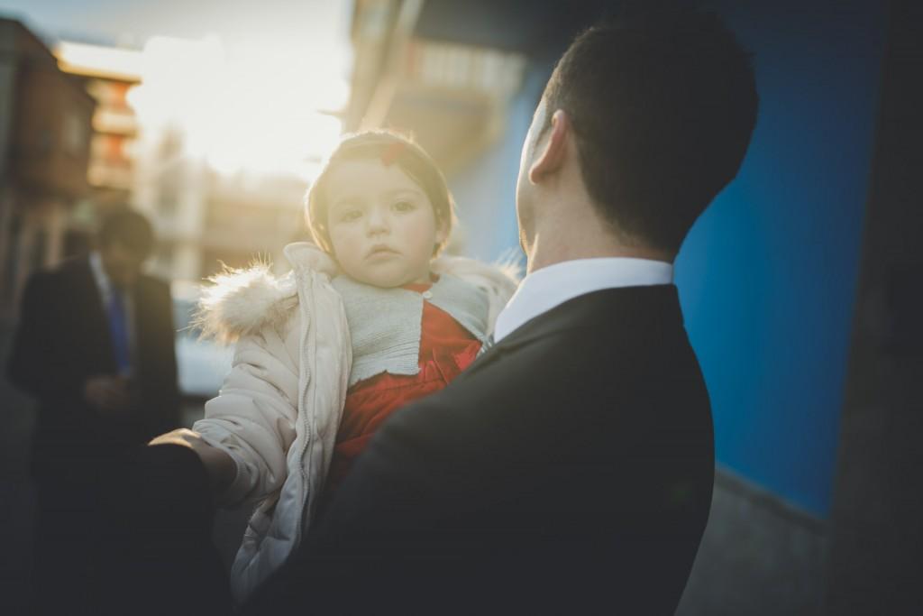 novio con su hija