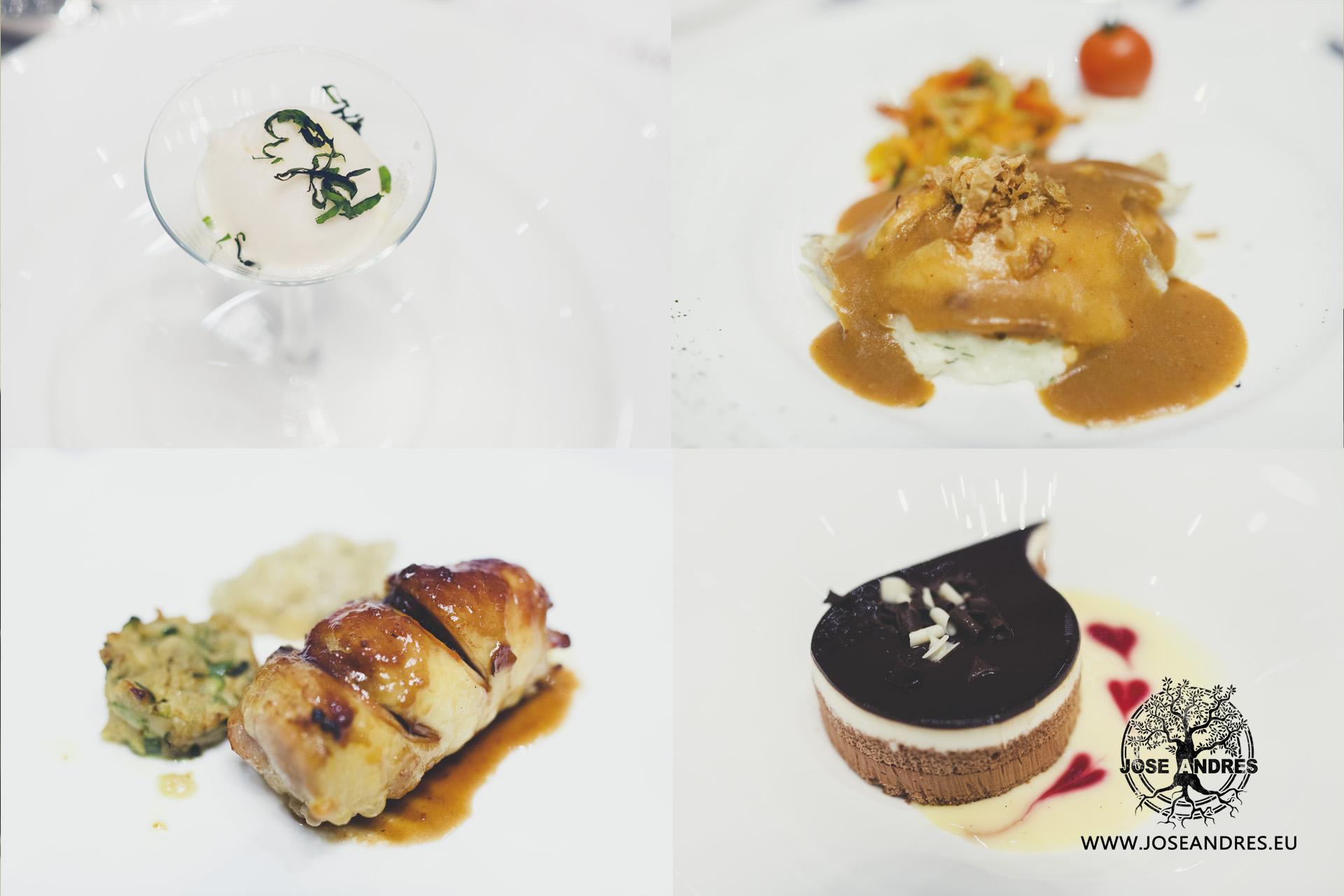 comida boda restaurante myrtus
