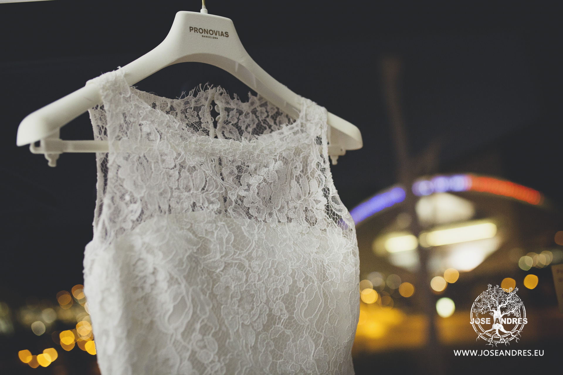 Vestido de novia de Pronovias, en hotel Barceló de Valencia