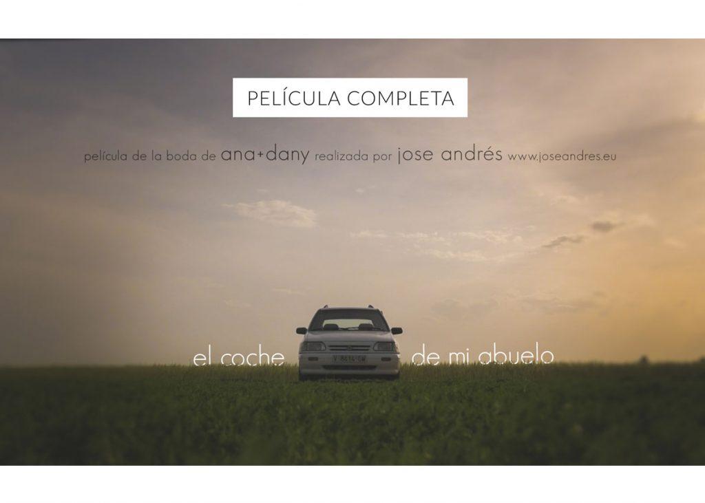 el coche de mi abuelo Boda en Xamandreu Jose Andres fotografía y cine documental de bodas Jose Andres fotografía y cine documental de bodas