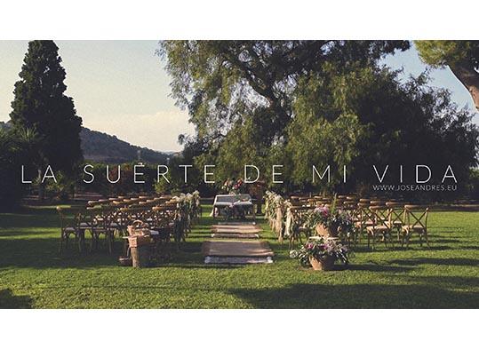Boda en Mas les Lloses, Mas de les lloses, video de boda, cine de boda, documental de boda