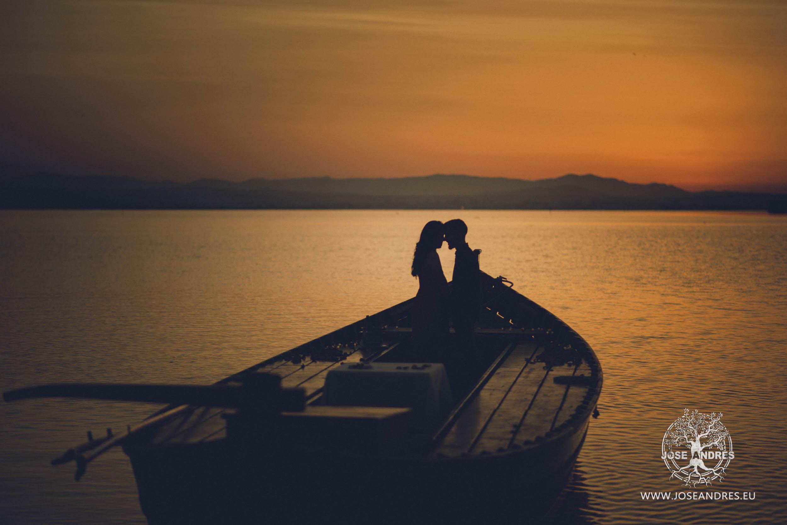 Pedida de mano en barca - Victor + Elsa, Pedida de mano en la Albufera de Valencia