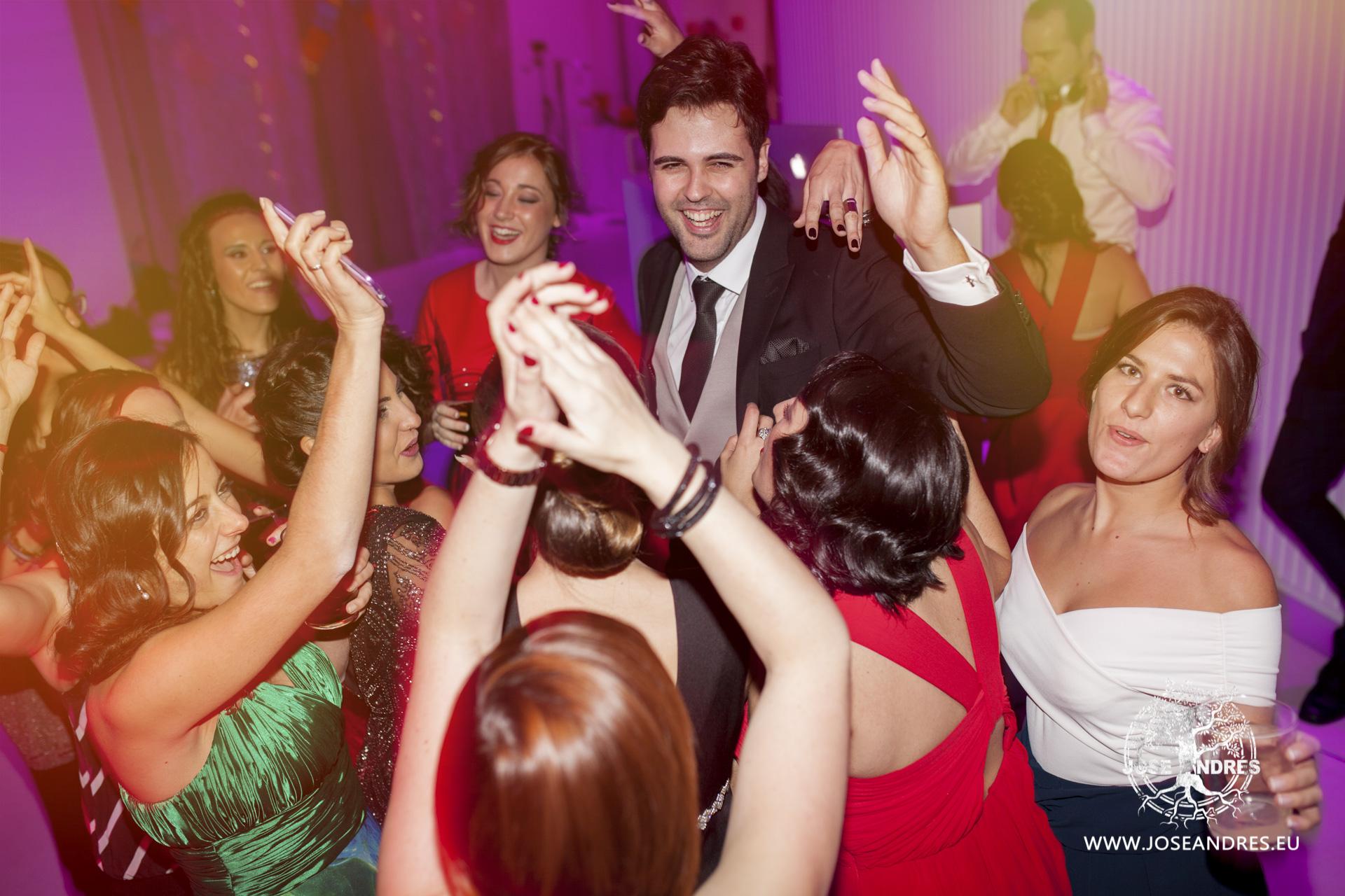 fiesta de Boda en Myrtus Valencia