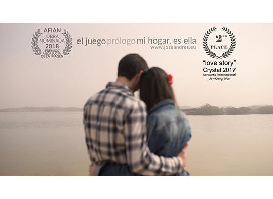 mejor vídeo de preboda Poster Estefania y Nico, Fotógrafo Valencia, fotografía emotiva y sin posados Cine documental de boda
