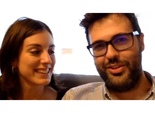 Marta y Alberto opinión de pareja video boda Boda en Myrtus, boda en Dominicos Valencia,